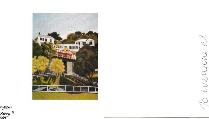 Stephanie de Montalk card, 2001