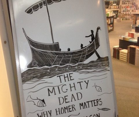 The Mighty Dead: Why Homer Matters Whiteboard, 12th June 2014
