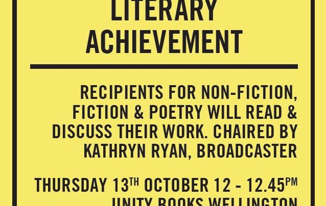 Prime Minister's Awards for Literary Achievement, 13th October 2016