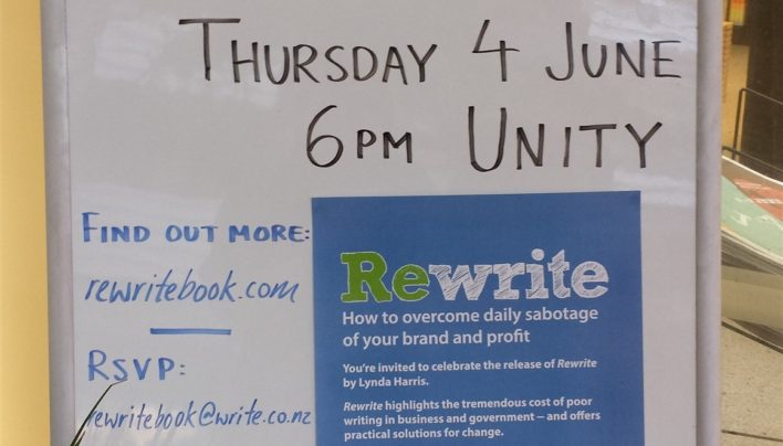 Rewrite Launch, 4th June 2015