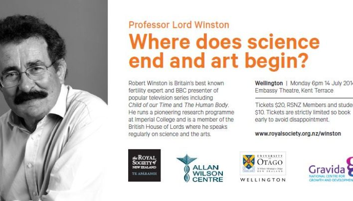 Robert Winston Event, 14th July 2014