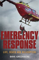 Launch | Emergency Response by Dave Greenberg | Thursday 5th October, 6-7:30pm | In-store at Unity Books Wellington