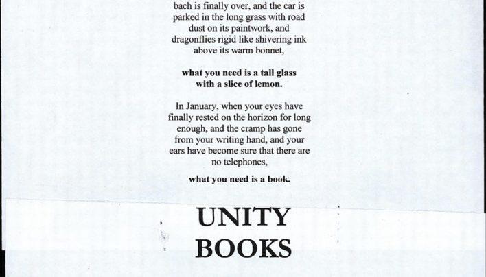 Christmas advertisement, December 1995