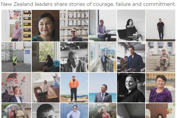 Launch | Leaders Like You: NZ Leaders Share Stories of Courage, Failure & Commitment by Nick Sceats & Andrea Thompson | Wednesday 25th October, 6-7:30pm | In-store at Unity Books Wellington