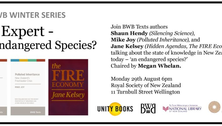 The Expert – An Endangered Species? event, 29th August 2016