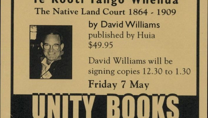 David Williams book signing, 7th May 1999