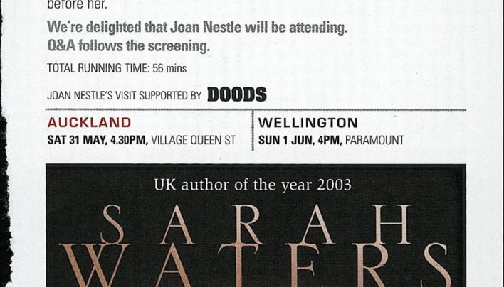 Outtakes programme advertisement, 1st June 2003