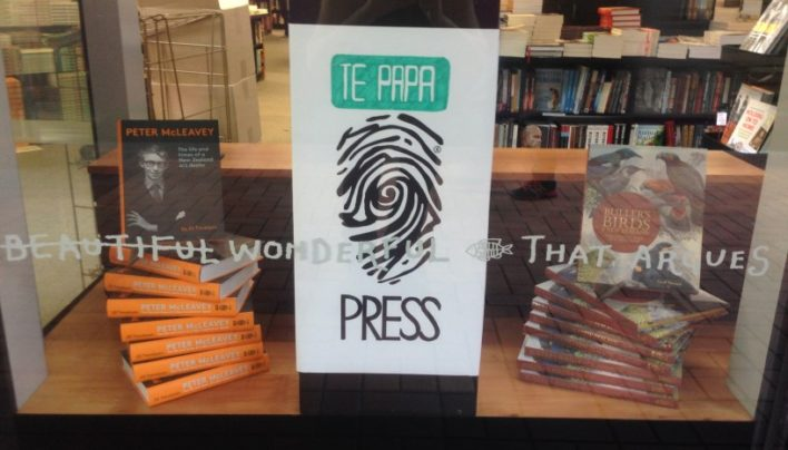Supporting Te Papa Press, 12th April 2015