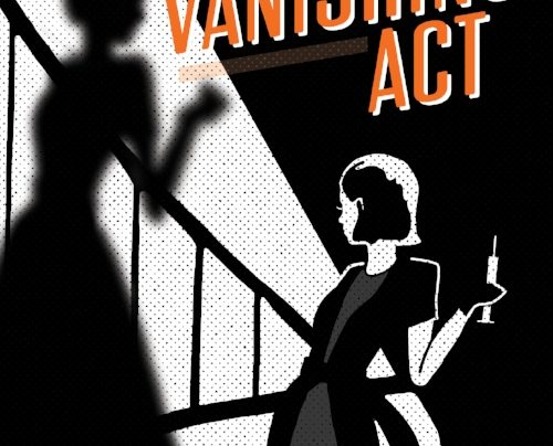 Lunchtime Launch | The Vanishing Act by Jen Shieff | Thursday 22nd March, 12-12:45pm