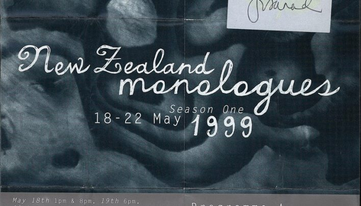 Toi Whakaari NZ monologues, 18th -22nd May 1999