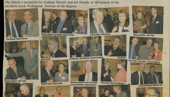 Wellington: A Portrait of the Region Launch, 3rd August 2005