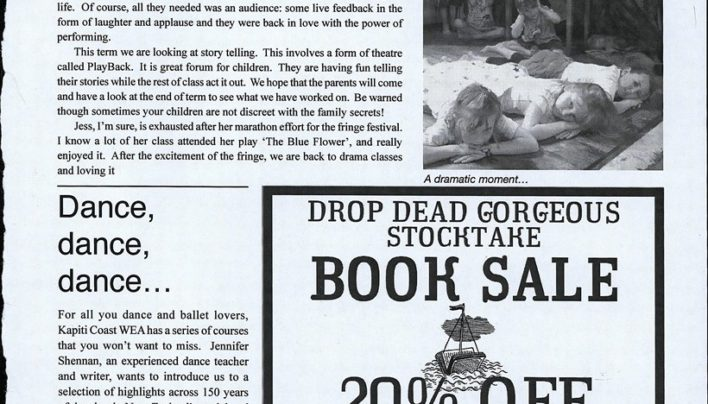 "Advertisements, 20%-off ""drop dead gorgeous"" sale, 16th March 2007 onwards"