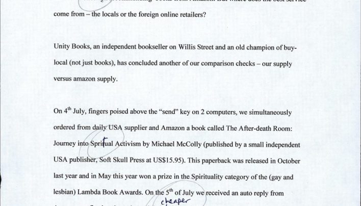 Baker & Taylor vs Amazon press release, 3rd August 2007
