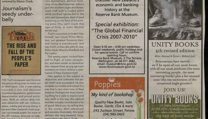 Advertisement, Capital Times, 19th January 2011