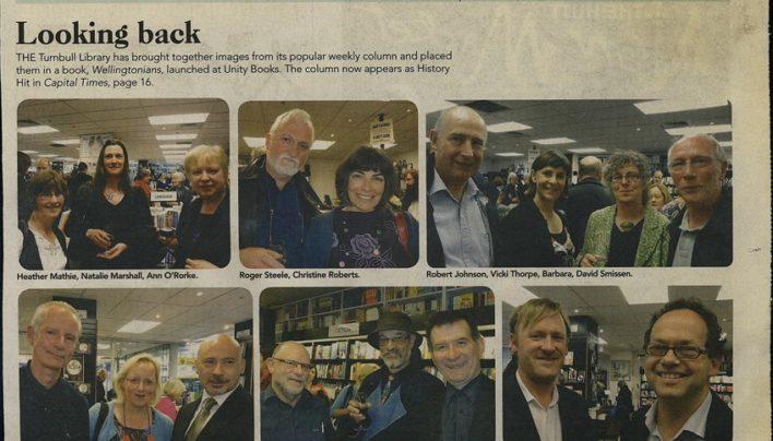 Wellingtonians Launch, Capital Times, 23rd November 2011