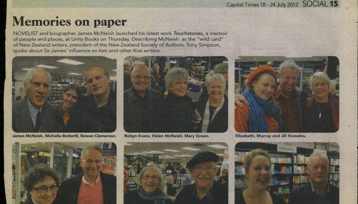 Touchstones Launch, Capital Times, 18th July 2012