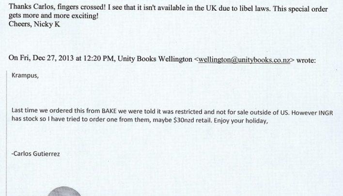 Special Order, 27th December 2013