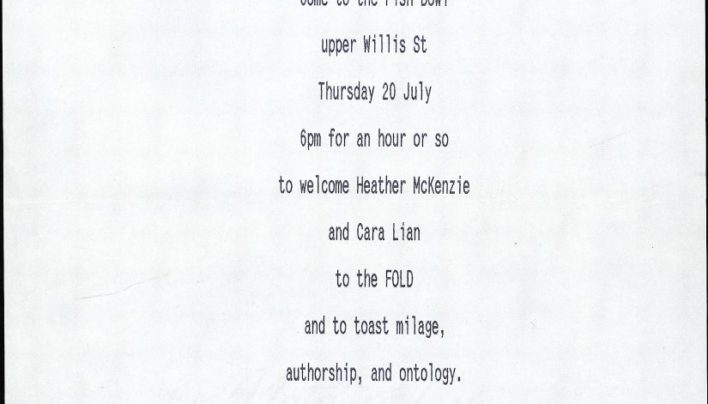 Heather McKenzie and Cara Lian join the staff, 20th July 1995
