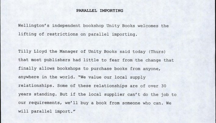Parallel Importing Press Release, 21st May 1998