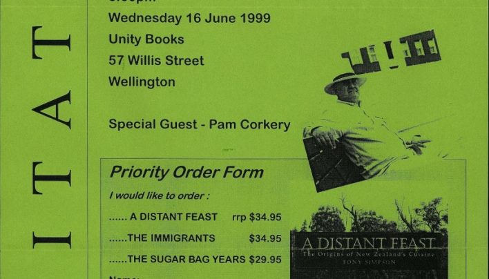 """A Distant Feast"" launch, 16th June 1999"