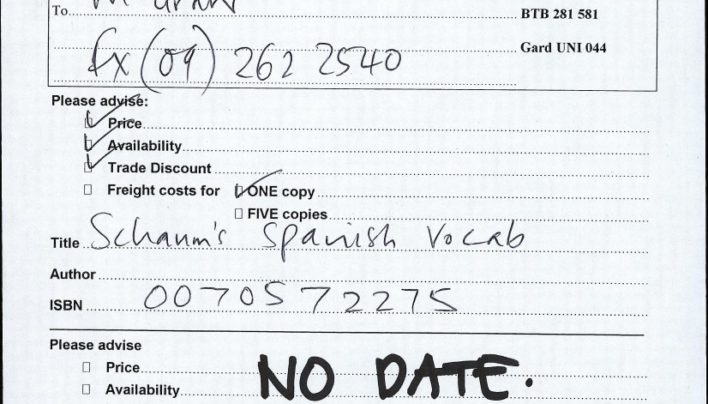 How not to perform a price & availability check, sometime in 2000
