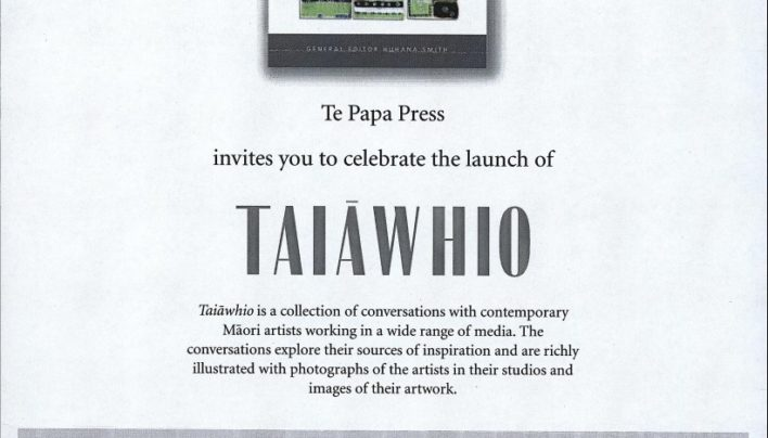 Taiawhio launch, 29th August 2002