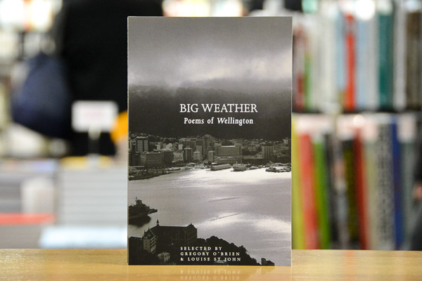 AFTERGLOW: National Poetry Day 2018 – Big Weather: Poems of Wellington & National Schools Poetry Award winner
