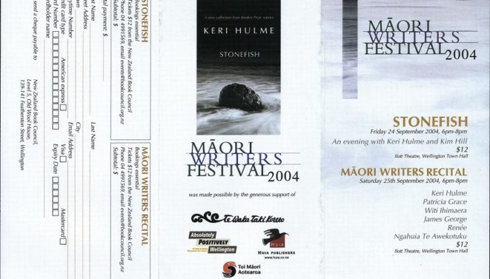 Māori Writers Festival, 24th September 2004