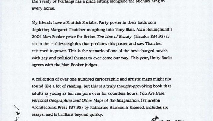 Pre-Xmas bestsellers press release, 2004
