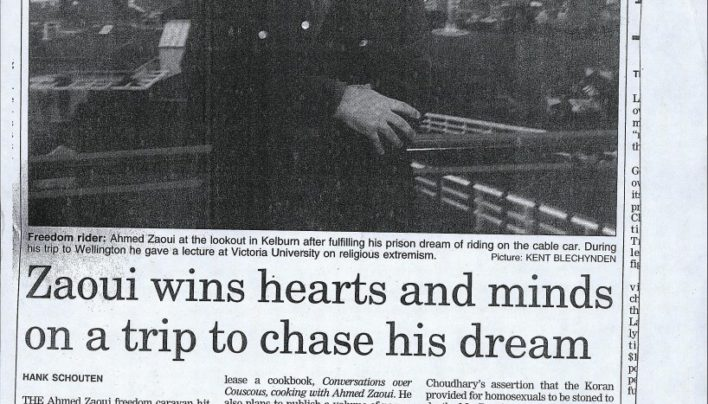 Ahmed Zaoui article, Dominion Post, 8th July 2005
