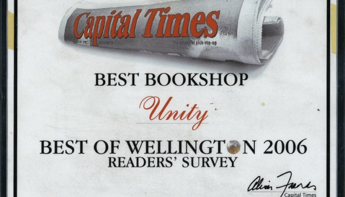 """Best Bookshop"", Capital Times Readers Survey, 2006"