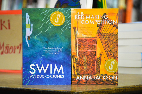 AFTERGLOW: Avi Duckor-Jones & Anna Jackson launch Swim & The Bed-Making Competition