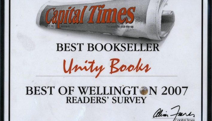 """Best Bookseller"" Award, Capital Times Readers' Survey 2007"