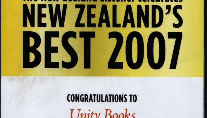 """Best Book Shop"", NZ Listener New Zealand's Best 2007"