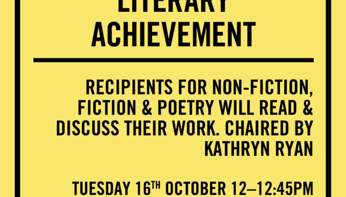 Lunchtime Event | Prime Minister's Awards for Literary Achievement | In-store Tuesday 16th October, 12-12:45pm