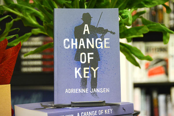 AFTERGLOW: A Change Of Key by Adrienne Jansen