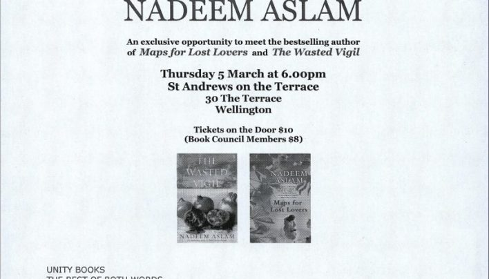 An Evening With Nadeem Aslam, 17th February 2009