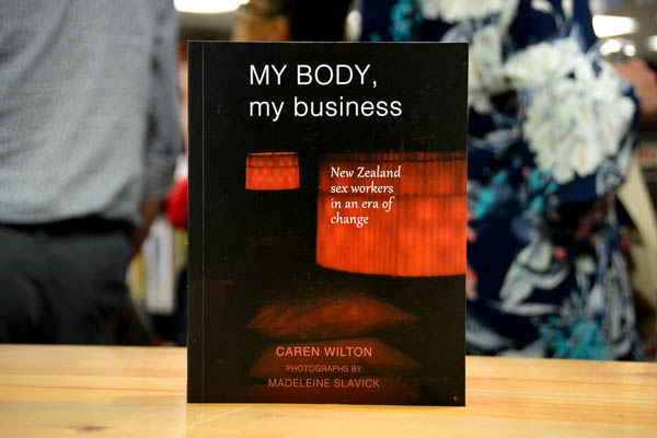 AFTERGLOW: My Body, My Business by Caren Wilton with photographs by Madeleine Slavick