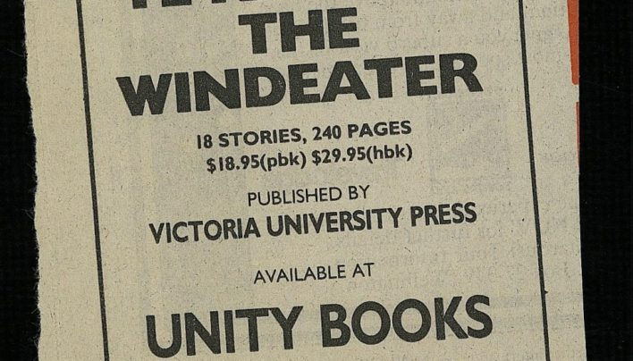 Te Kaihau The Windeater advertisement, 12th March 1986