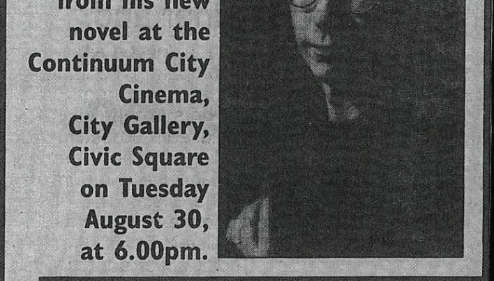 Peter Carey event, 30th August 1994