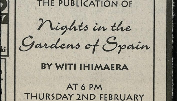 Nights in the Garden of Spain launch, 2nd February 1995