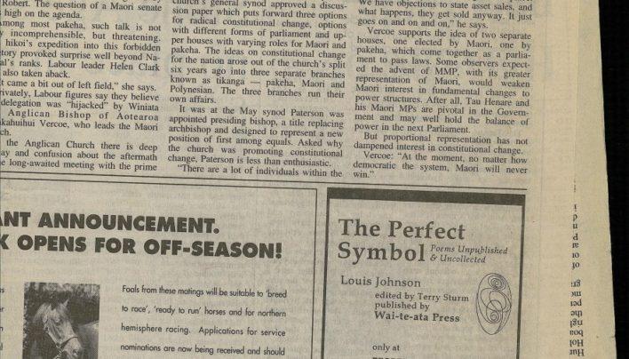 Louis Johnson advertisement, 20th December 1998