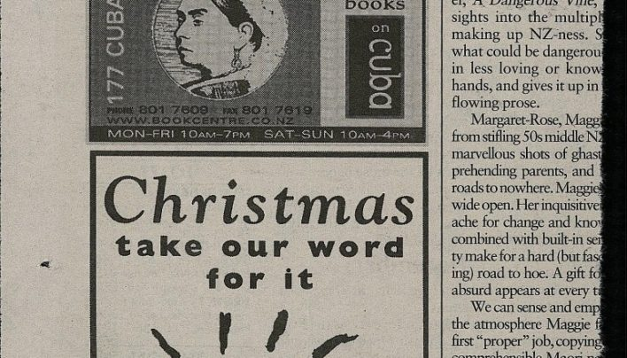 Christmas advertisement, City Voice, 22nd December 1999