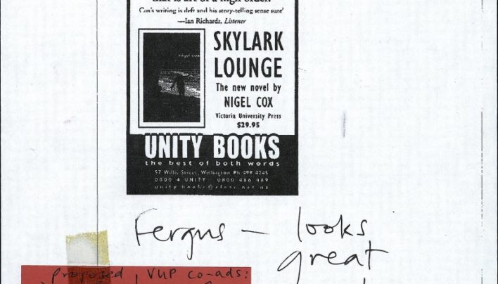 Skylark Lounge advertisement, 19th July 2000