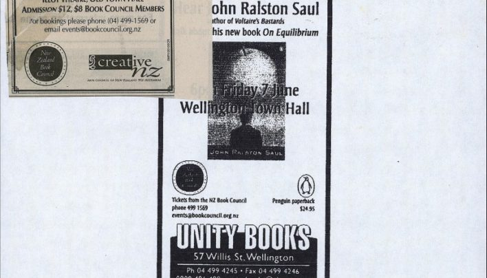John Ralston Saul advertisements, 3rd June 2002