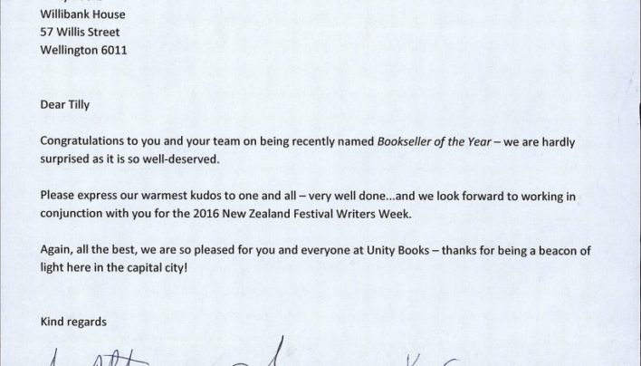 Bookseller of the Year, 23rd June 2015