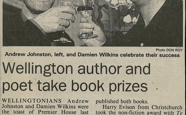New Zealand Book Awards, 1993
