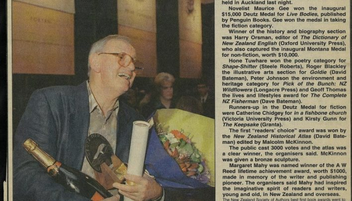 """Top awards go to Wellington writers"", Nz Herald, 1998"