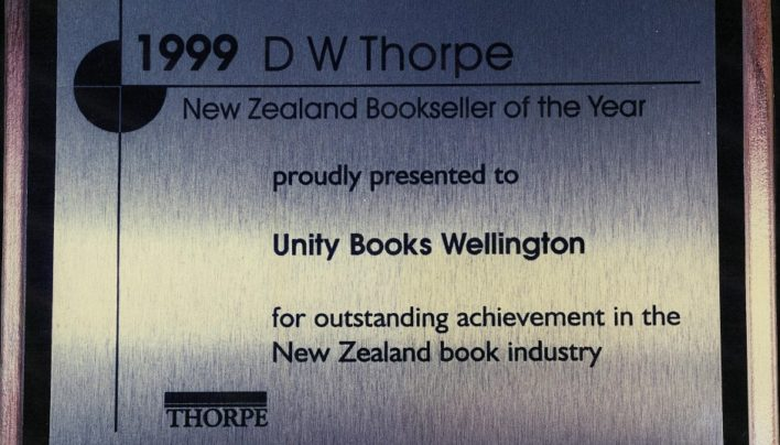 New Zealand Bookseller of the Year 1999
