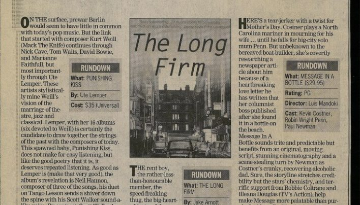 R&R Recommended Books, Evening Post, 11th May 2000